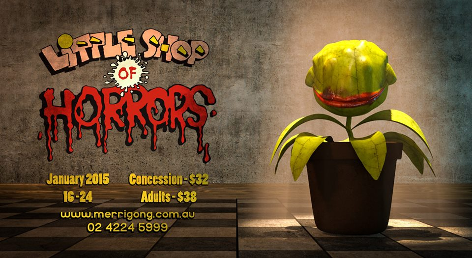 So Popera are excited to announce our January 2015 production of Little Shop Of Horrors!