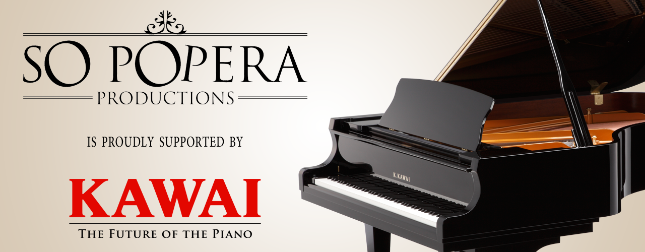 Kawai Australia - Proud supporters of So Popera Productions. Click the image to visit the Kawai Australia website.