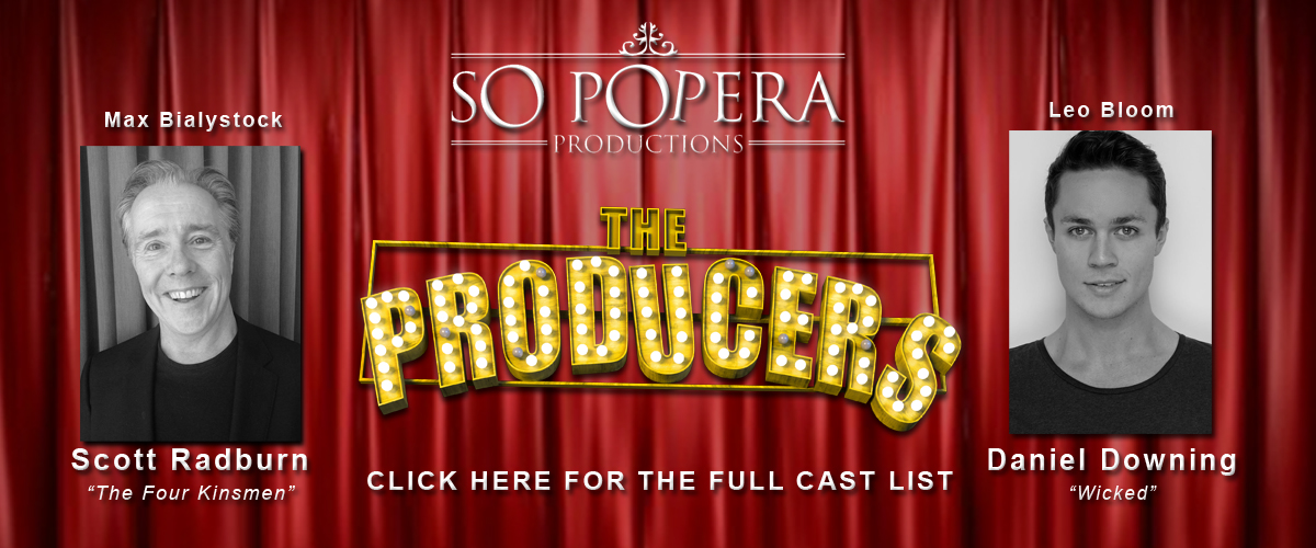 The Producers – CAST ANNOUNCED!