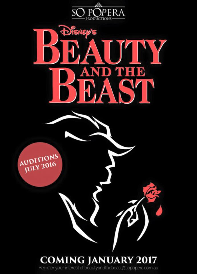 Beauty And The Beast – Upcoming Jan 2017!