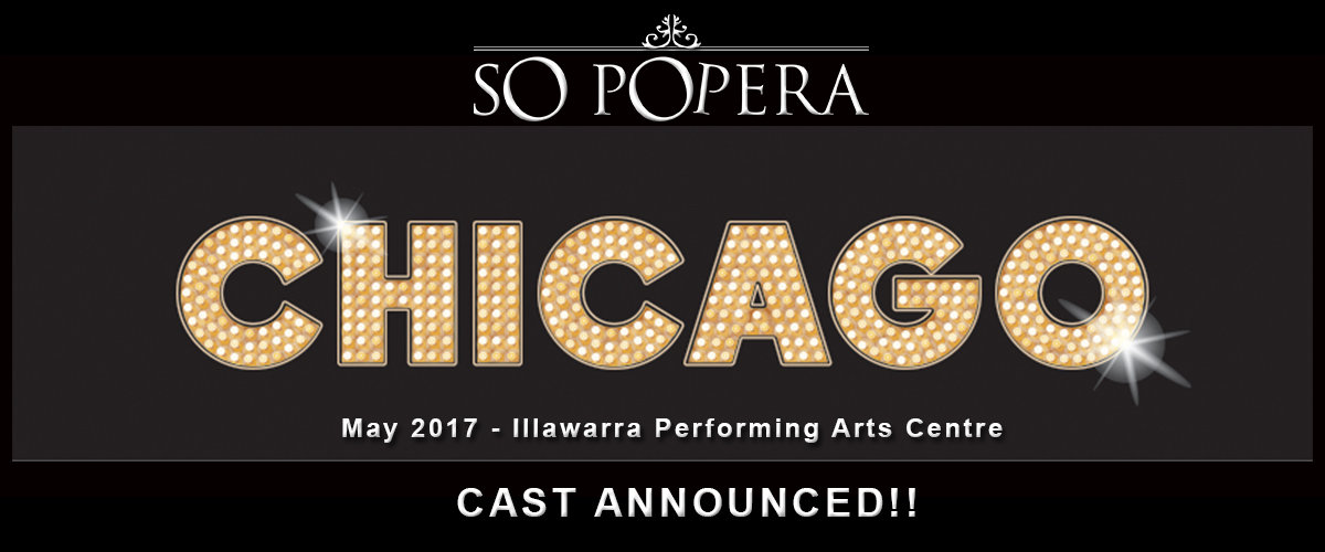 Chicago – Cast List Available!