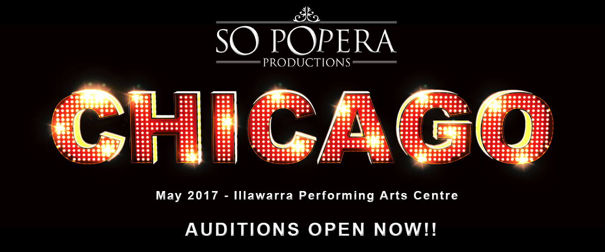 Chicago – Auditions Now Open!