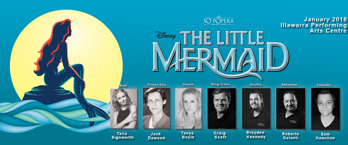 Little Mermaid Cast List!