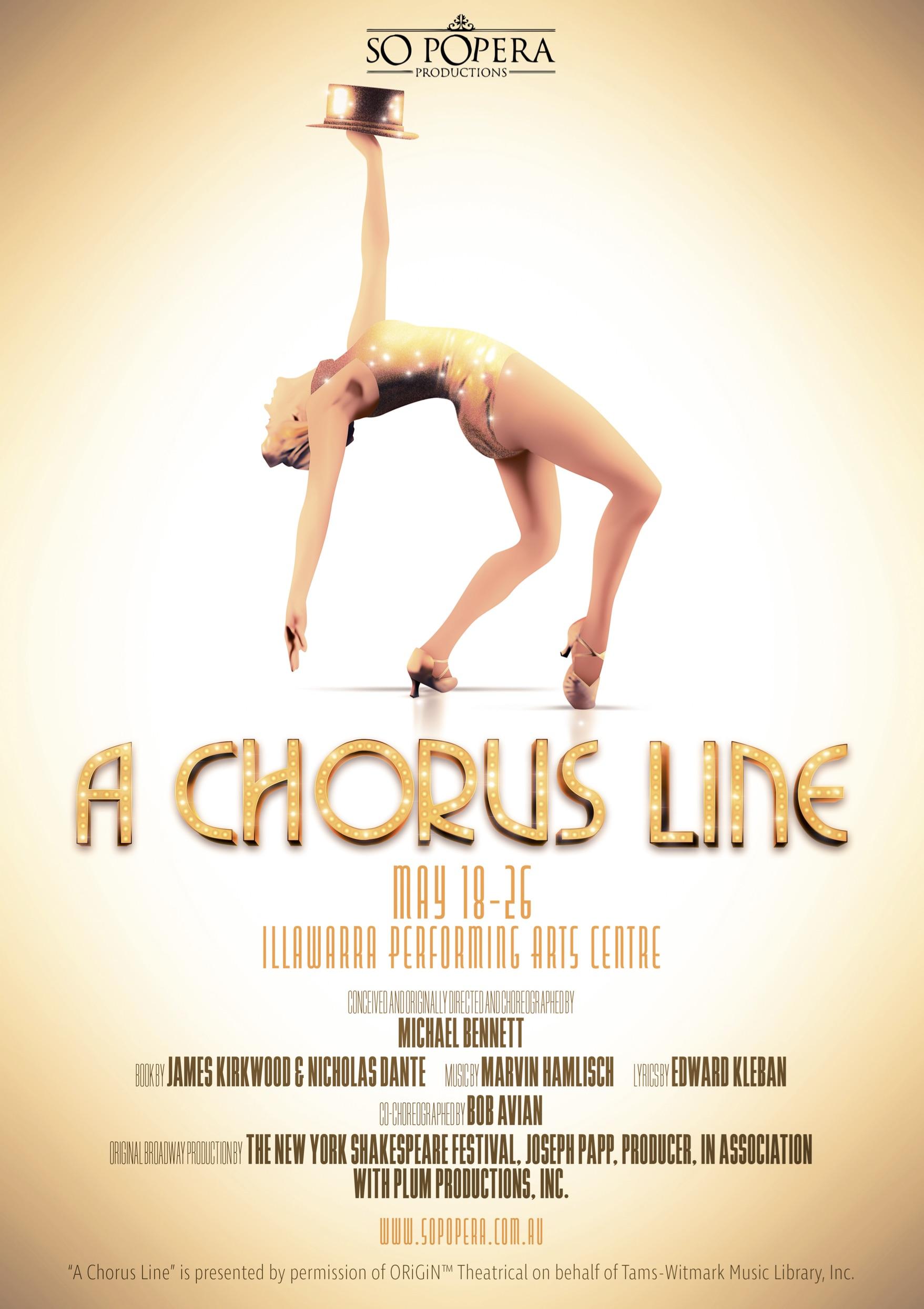 A Chorus Line – May 2018