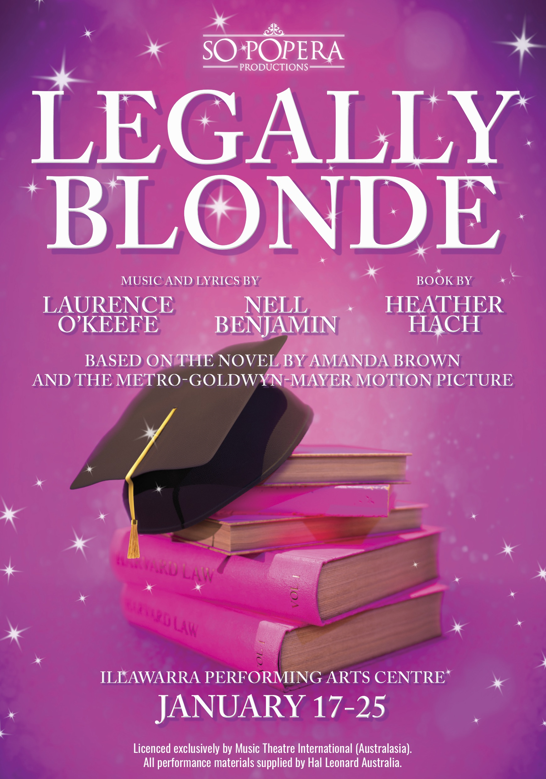 Legally Blonde – 17 – 25 Jan, 2020